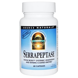 SOURCE NATURALS-Serrapeptase-60-caps