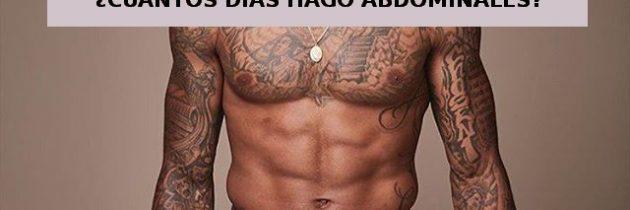 ¿Cuántos días hago abdominales?