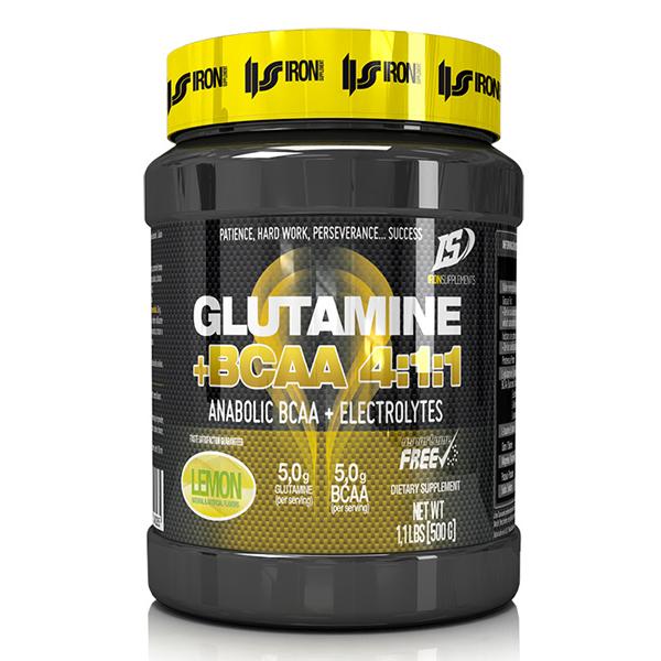 Glutamina + BCAA 4:1:1 - 500g - Iron Supplement - Boteprote