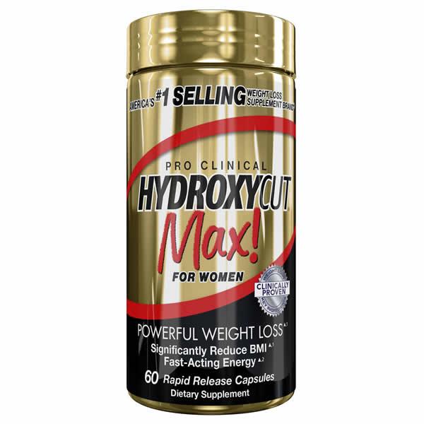Hydroxycut Max for Women - 60 caps - Muscletech