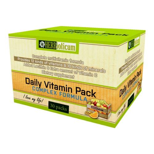 Daily vitamin packs