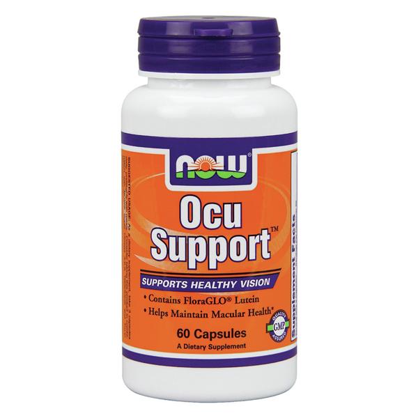 Ocu Support - 60 caps - Now Foods - Apoyo vista - Boteprote