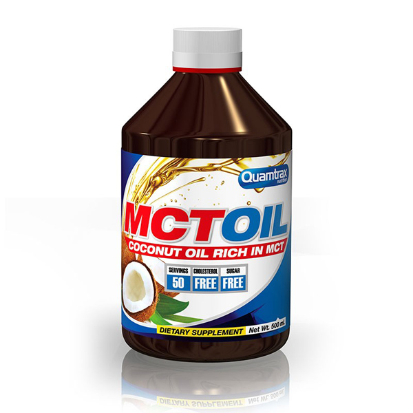 MCT Oil - 500ml - Quamtrax - Boteprote