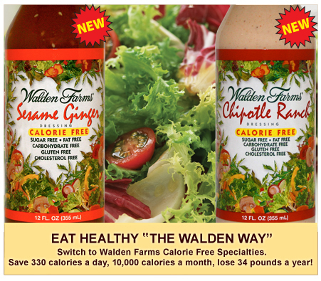 Saldar Dressing - Walden Farms
