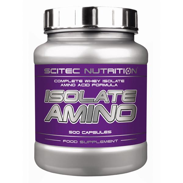Isolate Amino - 500 caps - Scitec Nutrition - Boteprote