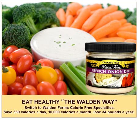 Salsa para verduras Walden Farms