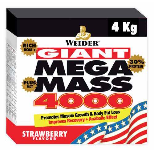 Mega Mass 4000 - 4Kg - WEIDER - Boteprote