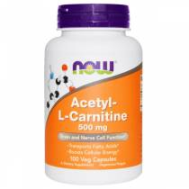 Acetyl L-Carnitine 500mg - 100 vcaps