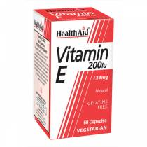 Vitamina E natural 200UI - 60 vcaps