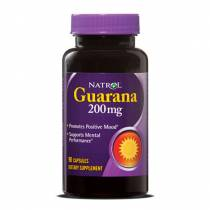 Guarana 200mg - 90 caps