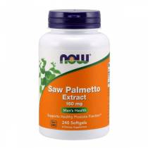 Saw Palmetto Extract 160mg - 240 softgels