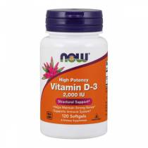Vitamin D-3 2000 UI - 120 softgels