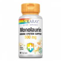 Monolaurin Immune System Support 500mg - 60 vcaps