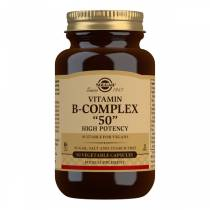 B-Complex 50 High Potency - 50 vcaps