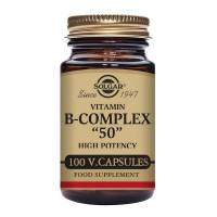 B-Complex 50 High Potency - 100 vcaps